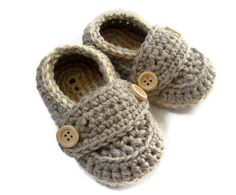 Crochet Baby Booties...These are super cute!!!