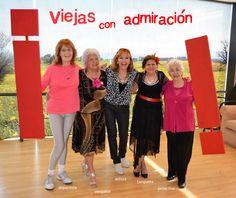 ¡Viejas con admiración! Deportista, tanguera, elegante, artista y proactiva, las viejas del Espacio Arturo Illia listas para el Primer Congreso de Viejos del Centro del País.