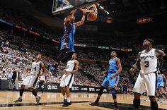 Russell Westbrook killin' it! Thunder at Spurs: Game 5 - 6/4/2012   THE OFFICIAL SITE OF THE OKLAHOMA CITY THUNDER