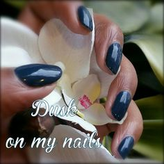 Dusk on my nails!