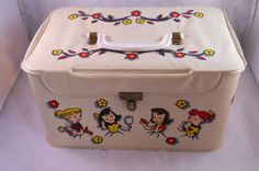Vintage Hassenfeld Doll Case