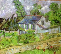Houses in Auvers Vincent van Gogh - 1890