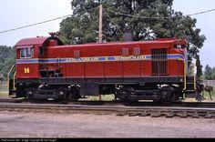 RailPictures.Net Photo: AM 14 Arkansas & Missouri Railroad ALCO T-6 at Fort Smith, Arkansas by Sid Vaught
