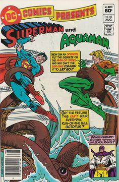 DC Comics Presents Vol. 5 No. 48 1982 Superman and Aquaman by TheSamAntics