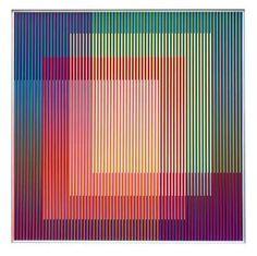 Carlos Cruz-Díez 14 by claudette Op Art, Illusion Kunst, Illusion Art, Modern Art, Contemporary Art, Josef Albers, Kinetic Art, Art Furniture, Art Plastique