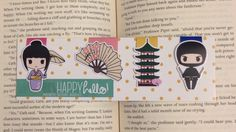 Magnetic Bookmarks  Japan by HappyHelloCo on Etsy