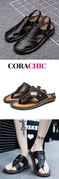 pizza - Men's Casual Summer Breathable Sandals On Sale Good Quality & Comfy now! Mens Fashion Shoes, Fashion Sandals, Men's Shoes, Shoe Boots, African Inspired Fashion, Sandals For Sale, Men Casual, Vegetable Illustration, Bank Account