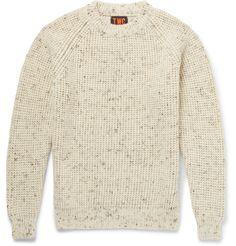 The Workers Club Merino Wool Sweater White | Nuji
