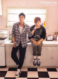 This is so cute i'M scReAMiNG Tvxq Changmin, Jung Yunho, Chang Min, Music Charts, Korean Group, Yesung, Jaejoong, Fujoshi, Asian Boys