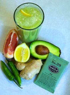 Icy, Green & Delicious: Avocado Iced Green Tea Recipe