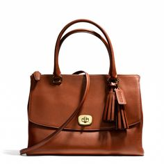 Coach :: LEGACY LARGE HARPER SATCHEL IN LEATHER