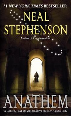 Anathem, by Neal Stephenson. Call number: PS3569.T445 A53 2008. Stephenson conjures a far-future Earth-like planet, Arbre, where scientists, philosophers and mathematicians—a religious order unto themselves—have been cloistered behind concent (convent) walls. Their role is to nurture all knowledge while safeguarding it from the vagaries of the irrational saecular outside world.