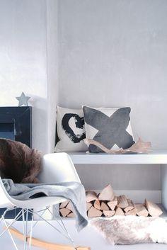 Scandinavische Interieur; stoer, robuust en warm tegelijk!