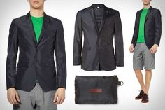 The Burberry 'Packaway Blazer' Merges Practicality With Style trendhunter.com