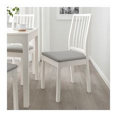 IKEA EKEDALEN chair The cover is easy to remove, machine-wash and put back on again. Dining Area, Dining Chairs, Room Chairs, Bag Chairs, Office Chairs, Lounge Chairs, Dining Table, Chaise Ikea, Ikea Family