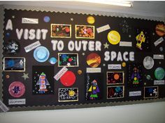 A Visit to Outer Space Classroom Display Photo - SparkleBox