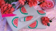 NORIE- videó - Dinnyés csomagolópapír