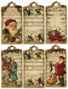 47 Free Printable Christmas Gift Tags (That You Can Edit and Personalize Instantly! Free Printable Christmas Gift Tags, Christmas Labels, Christmas Paper Crafts, Noel Christmas, Victorian Christmas, Christmas Decoupage, Christmas Mantles, Free Printable Gift Tags, Printable Vintage