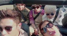 Explaining why G-Dragon and Seungri were taking public transportation, Big Bang unveiled the music video for We Like 2 Party. Daesung, Gd Bigbang, Big Bang Kpop, Bang Bang, G Dragon Top, Fantastic Baby, Jiyong, Yg Entertainment, K Idols