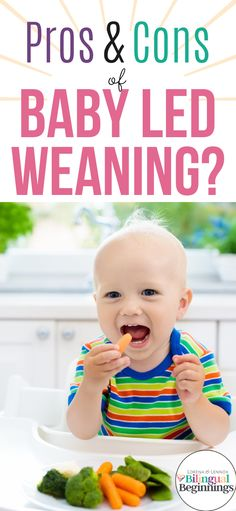 The Pros & Cons of Baby Led Weaning: Mamas Tell All — Lorena & Lennox Bilingual Beginnings Baby Health, Kids Health, Starting Solids Baby, Newborn Baby Tips, Potty Training Boys, Breastfeeding And Pumping, Baby Led Weaning, Baby Hacks, Picky Eaters