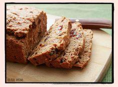 Fast bread with raisins and cinnamon Easy Healthy Recipes, Gourmet Recipes, Vegetarian Recipes, Easy Meals, Raisin Sec, Vegan Bread, Banana Bread, Cinnamon, Desserts