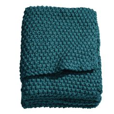 Moss knit blanket (H&M)