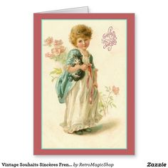 girl in white dress & blue coat holds kitten Vintage Tags, Look Vintage, Vintage Labels, Vintage Ephemera, Vintage Postcards, Vintage Prints, Vintage Stationary, Victorian Valentines, Vintage Valentines