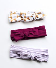 The Knotted Headbands // The Britton Collection | Little Hip Squeaks