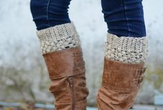 Puffy Boot Socks
