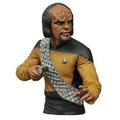 Star Trek Worf Coin Bust Bank