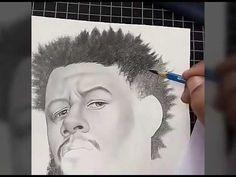 Desenhando cabelo afro