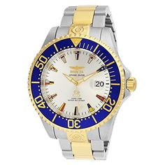 Men's Wrist Watches - Invicta 21326 Mens 47mm Grand Diver International Automatic TwoTone Bracelet Watch *** Click on the image for additional details.