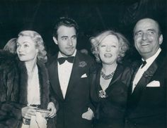 Gilbert Roland from Left), seen here with Constance Bennett, Marion Davies & Douglas Fairbanks Sr Photo is from 1937 Old Hollywood Stars, Vintage Hollywood, Classic Hollywood, Gilbert Roland, John Gilbert, Constance Bennett, Marion Davies, Douglas Fairbanks, Coconut Grove