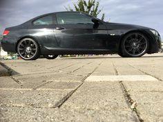 Black e92 grey wheels mv4