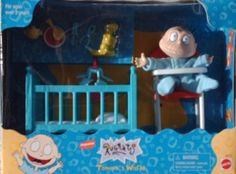 Nickelodeon Rugrats TOMMY'S WORLD Tommy Pickles Figure Play Set (1997 Mattle)