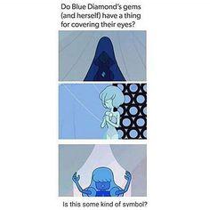 blue diamond steven universe pearl - Google Search