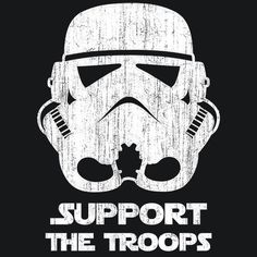 T-Shirt Star Wars  Support The Troops