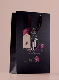 JF BOUTIQUE - Brand Identity by Valeria Santarelli, via Behance