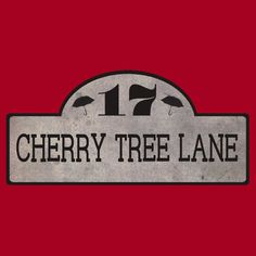 Super awesome 17 Cherry Tree Lane t-shirt. I do love a subtle Mary Poppins reference.