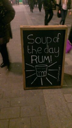I want soup for lunch...