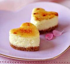 Brûléed Mini Cheesecakes