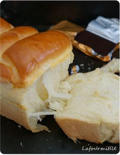 Brioche nippone ou la m thode Tangzhong Cooking Chef, Easy Cooking, Cooking Recipes, French Bread Recipe No Yeast, Croissants, Brioche Recipe, Good Food, Yummy Food, Recipes