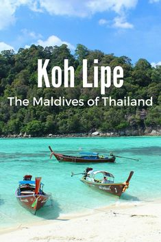 A quick guide to Koh Lipe, the Malvides of Thailand. Definitely one of the best islands to visit in Thailand. #kohlipe #thailand #travel