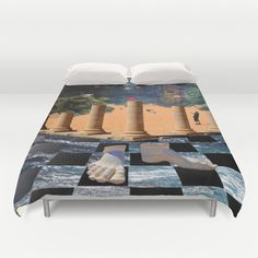 The Elemental Tourist - Water Duvet Cover
