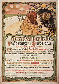 Fiesta benéfica. Velódromo de Barcelona | Museu Nacional d'Art de Catalunya