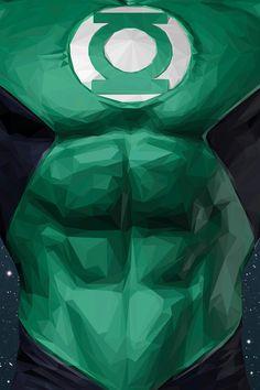 Geometric Super Heroes by Simon Delart