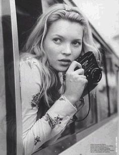 Kate Moss by Corrine Day