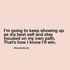 Girl boss inspo by Motivacional Quotes, Babe Quotes, Woman Quotes, Quotes To Live By, Daily Quotes, Positive Vibes, Positive Quotes, Boss Lady Quotes, Strong Lady Quotes