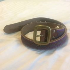 Lucky Brand belt This belt is in awesome condition! It has no damage so it and it's sturdy. Lucky Brand Accessories Belts