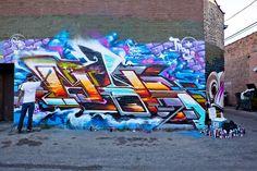 Pose MSK Graffiti